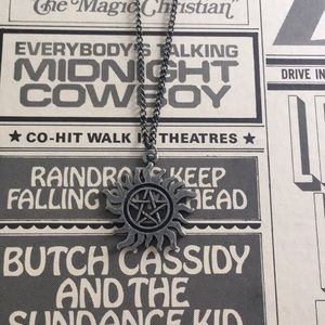 Supernatural pentagram necklace from Hot Topic